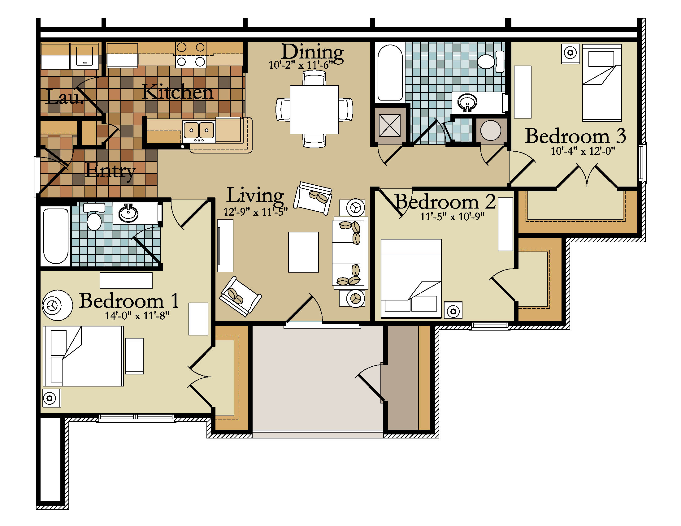 brilliant 3 bedroom condo floor plans.  TBG Residential Greystone